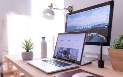Cómo crear un espacio de teletrabajo en casa que además cuide de tu salud visual