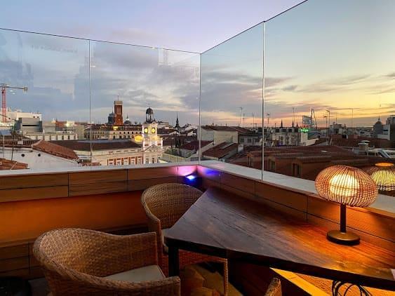 doña luz terraza Madrid