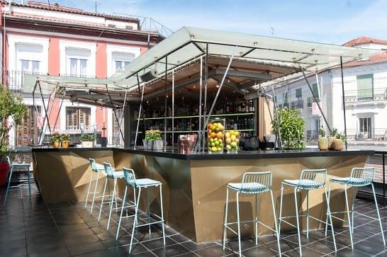la cocina de san Antón terraza Madrid